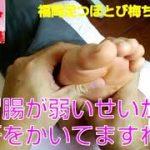 【足ツボ】Vol10胃腸が弱いお客さんを揉みました。福岡足つぼとび梅ちゃんねる